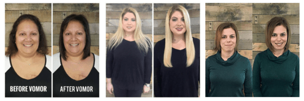 Salon extensions for short hair